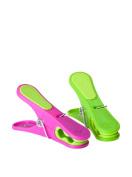 "'Vigar Home Pack 24u. Clip Clothes Flower Power (Circulo) Magenta, Green """