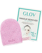 GLOV On The Go Cleansing Glove Grey - GLOV On-the-go makes your life much easier - Cleanses your skin - It performs great as a travelling accessory or as a secret ally in your daily routine