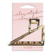 Kitsch Triangle Open Shape Claw Clip, 1 Count