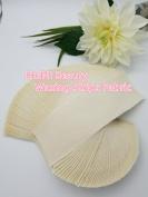 Huini 100 count Natural Muslin Cloth Epilating Waxing Strips 7.6cm X 23cm CD-807-1