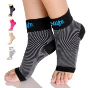 Dowellife Plantar Fasciitis Socks, Compression Foot Sleeves with Ankle & Arch Support, 0.8m Care, Ease Heel Spurs & Swelling, Relieve Pain Fast, Improve Blood Circulation