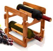 CLOTHES- Bamboo Removable Storage Rack Creative Wine Racks Bar Hotel Home Storage Rack