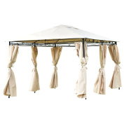 3mX4m Side Wall Gazebo Patio Canopy Tent Outdoor Party Shelter