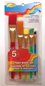 5 Piece Childrens Artists Art and Craft Paintbrush Set