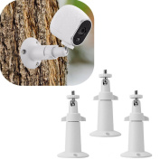 Cooljun Fashion Durable 3 Pcs Security Wall Mount for Arlo or Pro Camera Adjustable Indoor Outdoor