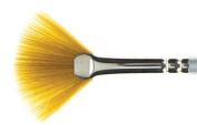 SAA Silver Fan Brush - Large