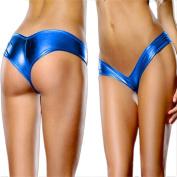Women's Sexy Panties, Balakie Patent Leather Shiny Leather Shorts Underpants Lingerie Lady Bikini Thongs