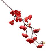 YJYdada Artificial Silk Fake Flowers Plum Blossom Floral Wedding Bouquet Party Decor