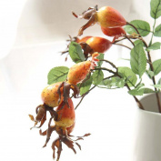 YJYdada Fake Artificial Rose Fruit Pomegranate Berries Bouquet Floral Garden Home Decor