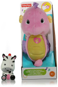 Soothe and Glow Seahorse Fisher-Price | Zebra Bath Squirter Fisher-Price