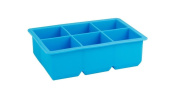 DaHanBL 6 Gird Silicone Rectangular Mould Bar Pudding Jelly Square Ice Grid Mould Freeze Mould