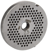 Stubai No. 8 Perforated Disc For Meat Mincing Maschine, Metal, Silver, 2.5 mm