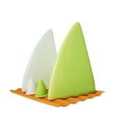 UChic 5Pcs/Set Creative Ceramics Shark Fins Shaped Style Salt Sugar Spice Pepper Shaker Seasoning Cans For Kitchen Restaurant and Home Decr Colour Random