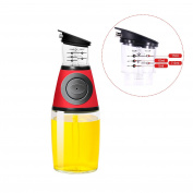 Olive Oil Dispenser, Measure and Dispense Cooking Oil,Measure in ML, TSP & TBSP