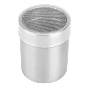 Uarter Chocolate Shaker Coffee Sifter Stainless Steel Powder Shaker with Lib, Perfect for Sugar, Powder, Chocolate, Flour and Coffee
