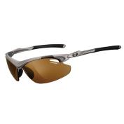 Tifosi Optics Tifosi Tyrant 2.0 Iron Brown Fototec Sunglasses - Clarion Red/AC Red/Clear