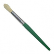 JAS : Childrens Short Handle Brush : Round Green no.10
