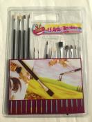 15 artist brushes