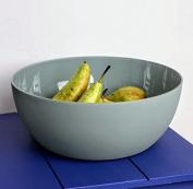 Large Modern, Round Fruit Display Bowl 31.5 x 12 cm Avangarde Matte