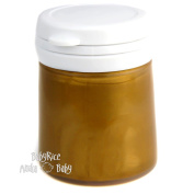 Gold Metallic Paint Pot 100ml Arts and Crafts Cast Painting Acrylic Water Based