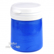 Blue Metallic Paint Pot 100ml Arts and Crafts Cast Painting Acrylic Water Based