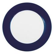 Kahla Pronto Colore Dinner Plate, Serving Plate, Porcelain, Midnight Blue, Ø 26 cm, 573403A70307C