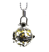 Pregnancy Bola Necklace with Metal Clasp