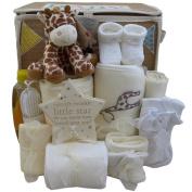 Baby gift basket baby gift hamper unisex neutral boy girl baby shower gift new baby gift