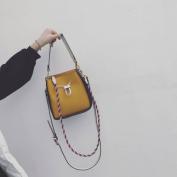 Mother of the Bag Fashion Hit Colour Handbag Shoulder Bag Handbag Shoulder Messenger Bag , yellow