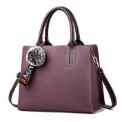 Box Handbags Handbag Messenger Messenger Messenger Bag Fashion Simple and Comfortable Handbags , purple