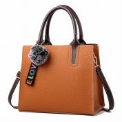 Box Handbags Handbag Messenger Messenger Messenger Bag Fashion Simple and Comfortable Handbags , yellow