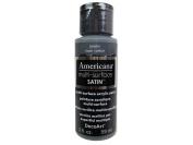 DecoArt Americana Multi Surface Satin Bottle Paint, Acrylic, Pewter, 3 x 3 x 7 cm