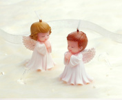 MiraoShop Birthday Gifts Angel Antique Soap Candle Boy and Girl