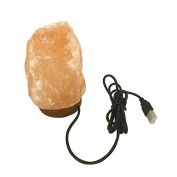 LED Natural Glow Hand Carved Salt Lamp Crystal Ore with Dimmer Control