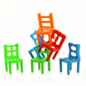 Big Promotion! GreatestPAK 18PCS Children Balance Chairs Toys, Educational Developmental Board Game Toy Gift For Kids