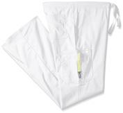 Cherokee Code Happy Code Happy 16001A Men's Tall Drawstring Cargo Pant Certainty - White