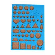 Espeedy Paper Quilling Template Mould Board Crimper Art DIY Paper Crafts Scrapbooks Tool