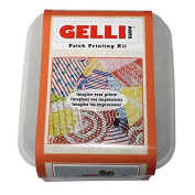 Gelli Arts Patch Printing Kit, Synthetic Material, Multi-Colour, 19 x 16.5 x 11.5 cm