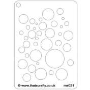 That's Crafty! - Mini Stencil - Bubbles
