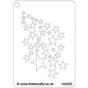 That's Crafty! - Mini Stencil - Stars