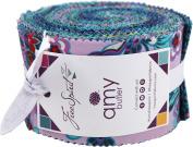 Amy Butler Night Music Design Roll 40 6.4cm Strips Jelly Roll Free Spirit