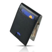 CRS Wallet CRS WalletMoney Clip Black black - grey Slim Wallet