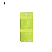 CHIC*MALL Wall Hanging Storage Bag Organiser Toys Container Decor Pocket Pouch Green
