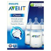 Avent Feeding Bottle 260Ml X3