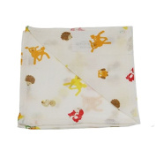 SLUMBERTAG Muslin Cloth Baby Comforter Security Blanket FOREST FRIENDS 30x30