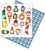 Potty Training Reward Chart with Stickers in Set Caterpillar Potty Training Colourful Stickers Children Baby Care