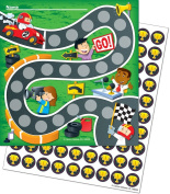 Potty Training Reward Chart with Stickers in Set Racing Car Potty Training Colourful Stickers Children Baby Care
