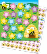 Potty Training Reward Chart with Stickers with Bee – Cleanliness Colourful Stickers Children Baby Care