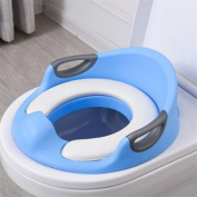 fashion child Home Portable Toilet seat Large household products , blue