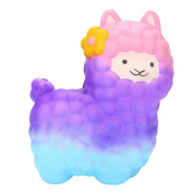 Squishies, ADESHOP Slow Rising Squishy Toy Jumbo Cute Bow Sheep Cream Scented Squishy Toys for Boys and Girls